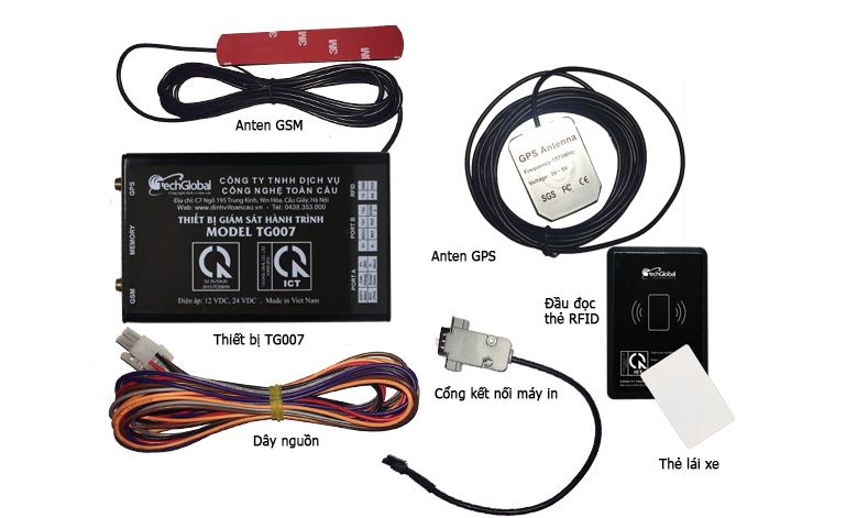 Thiết bị giám sát hành trình TG007 siêu bền