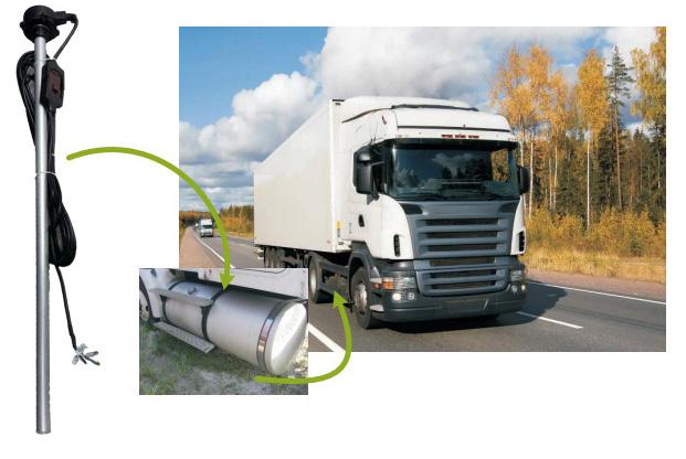 Thiết bị giám sát hành trình quản lý nhiên liệu- giải pháp quản lý cho nhà đầu tư